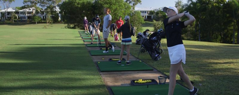 Driving range open to everyone seven days a week